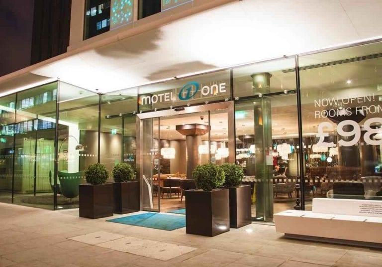 فندق موتيل وان لندن تاور هيل