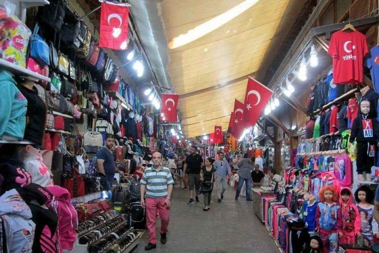 منطقة أولوس  الأسواق الرخيصة في أنقرة