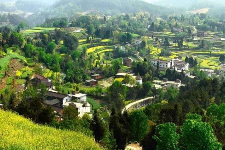 السياحة في الريف الصيني China  مقاطعة شانسي