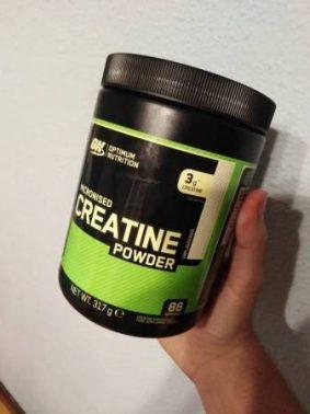الكرياتين Creatine مكمل غذائي لتكوين العضلات عند الرياضيين