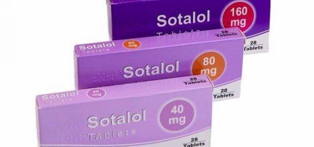 سوتالول Sotalol أقراص لعلاج سرعة ضربات القلب