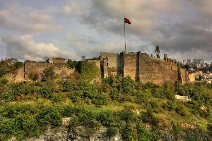 قلعة طرابزون .. طرابزون تركيا فى الشتاء