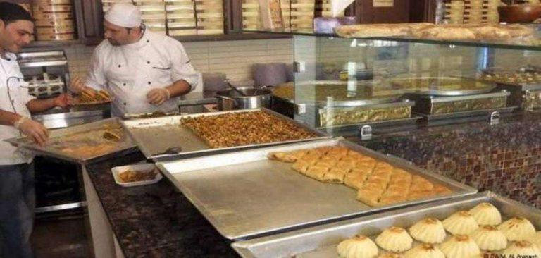 محلات حلويات في الأردن  محلات مشهورة في عمان الأردنية