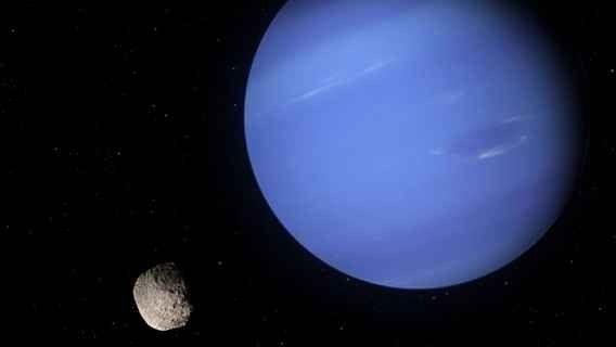 الكوكب الأزرق نبتون