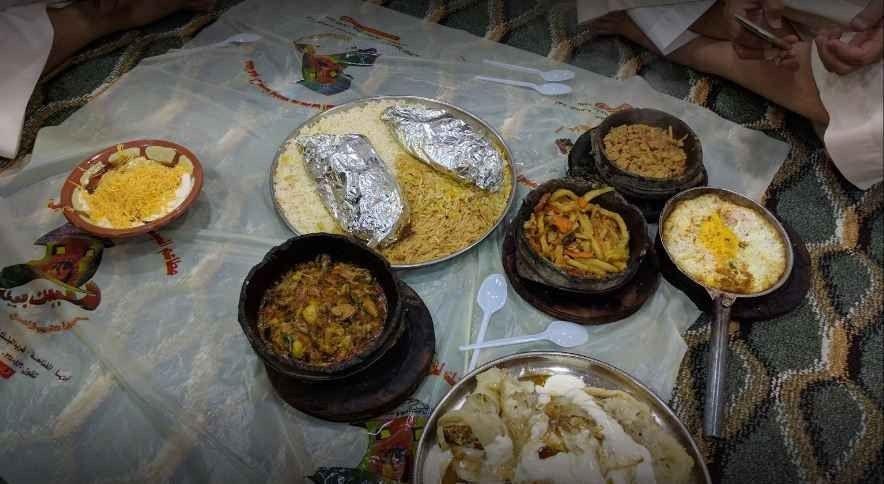 مطعم البيت بيتك في أبهاAl Bait Baitak Restaurant Abha