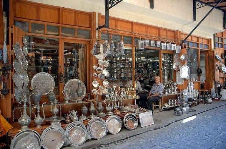 بازار درب النحاسين  الأسواق الرخيصة في أنقرة