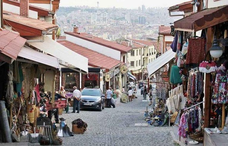 منطقة قلعة أنقرة  الأسواق الرخيصة في أنقرة