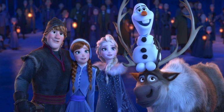 """فيلم """" Olaf's Frozen Adventure"""
