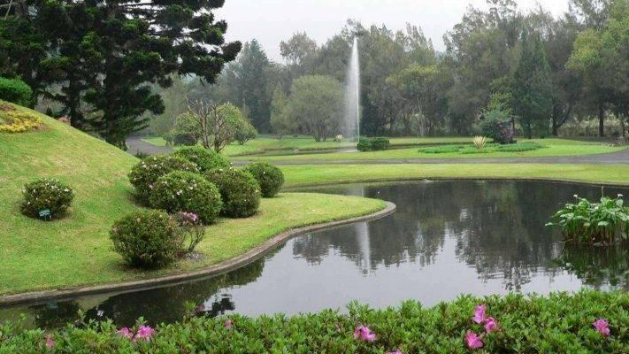حديقة Cibodas Botanical Garden ..