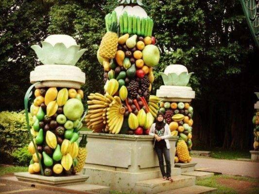 حديقة الفواكه Mekarsari Fruit Garden ..
