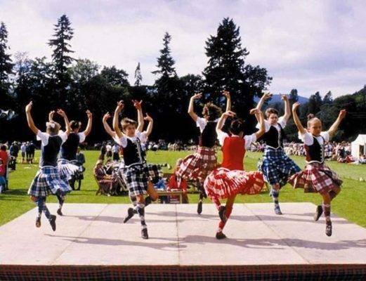 Highland Dancing  أنواع الرقص الحديث