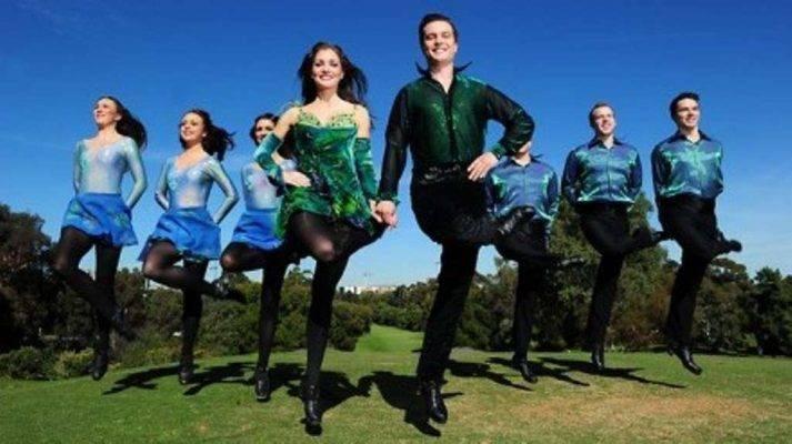 الرقص الأيرلندي  أنواع الرقص الحديث