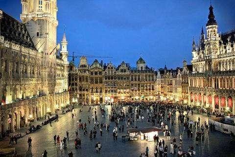زيارة المدن البلجيكية ..