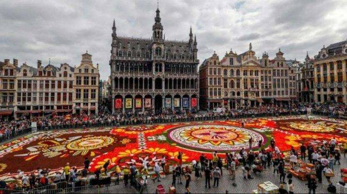 الميدان الكبير فى بلجيكا ..