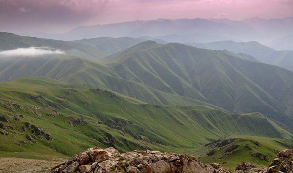 جبال خوستوب KhustupMountains