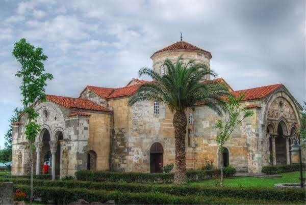 مسجد ومتحف آيا صوفيا .. طرابزون تركيا فى الشتاء