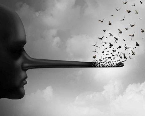 موضوع تعبير عن الكذب وأثاره بالعناصر الرئيسية