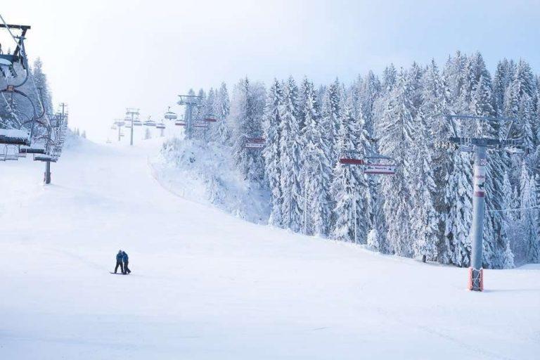 الشتاء في البوسنة