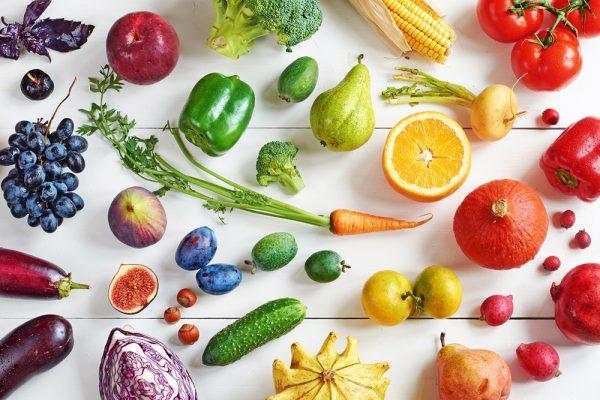 جدول السعرات الحرارية للخضروات
