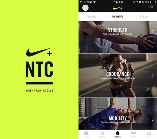 تطبيقNike Training Club – Workouts & Fitness Plans