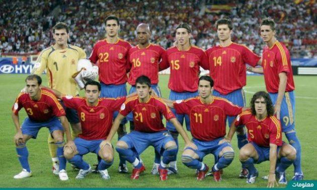 اسبانيا في كاس العالم 2006