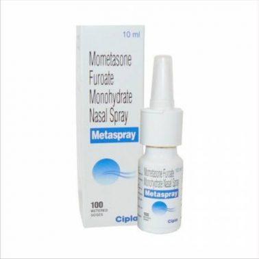 بخاخ الأنف موميتازون Mometasone nasal spray لعلاج الحساسية