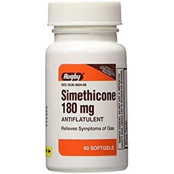 سيميثيكون Simethicone كبسولات لعلاج التقلصات