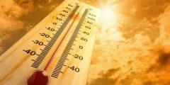 العمل فى درجات حرارة مرتفعة