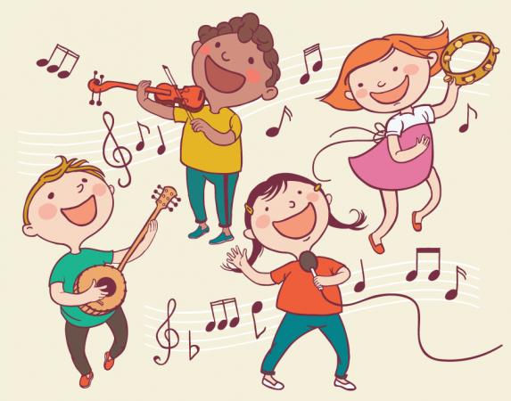 موسيقى اطفال مرحة