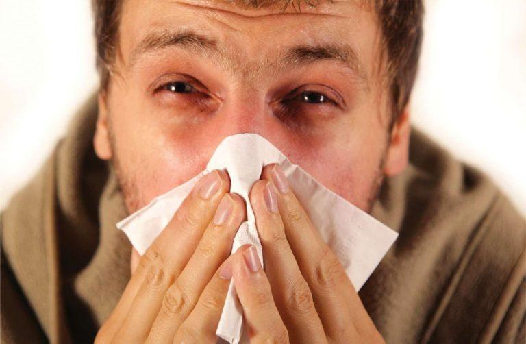 علاج الانفلونزا في الصيف