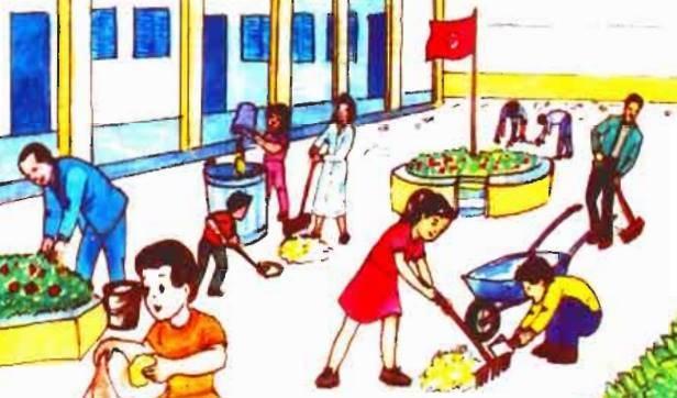 موضوع تعبير جديد عن نظافة المدرسة 2020